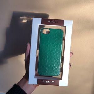 iPhone 5 Green Coach Case